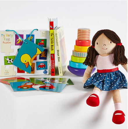 Selection of M&S toys