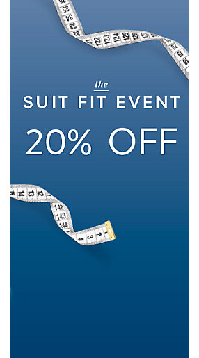 Shop the suits offer