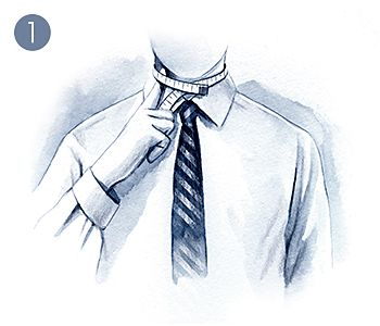 Detailed illustration of how to measure a formal shirt