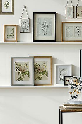 M&S picture frames and décor