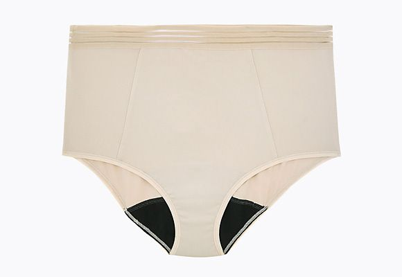 Nude full-brief Confidence knickers