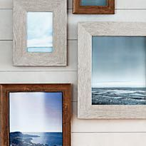 Picture frames with seascapes
