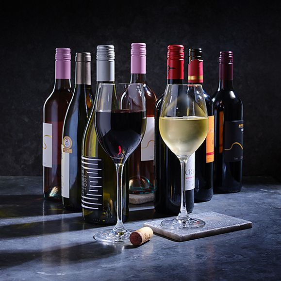 A selection of wine
