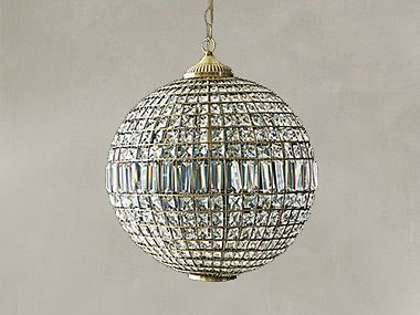 Gem ball ceiling light