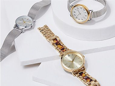 A selection of women's watches