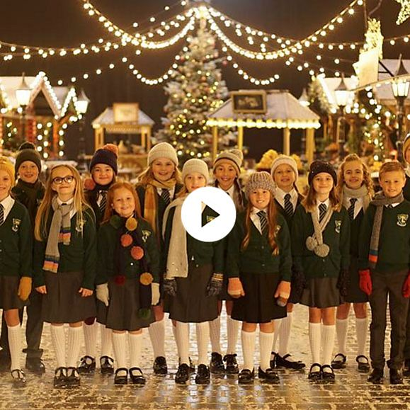 The Ysgol Llwyncelyn choir from Rhondda Valley in Wales