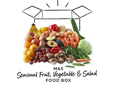M&S food boxes