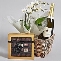M&S flower hampers