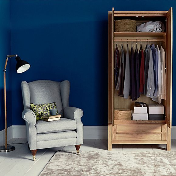 Stylish bedroom furniture and storage