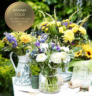 Our flowers have won gold at Chelsea Flower Show