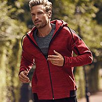Man wearing sportwear