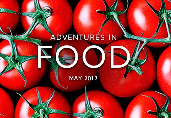 Celebrate the best seasonal ingredients for May