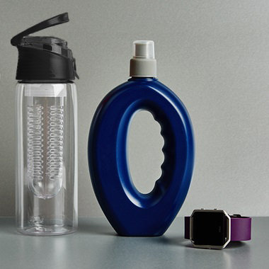Various fitness accessories