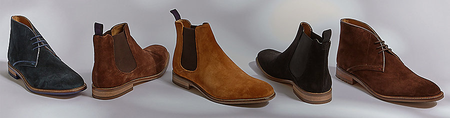 Men's Chelsea and lace-up boots