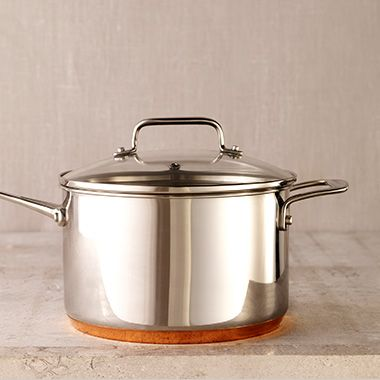 Shop copper-base pans