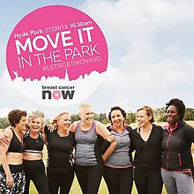 Free dance class in Hyde Park