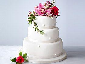 Wedding Cakes Buy Fresh Romantic Elegant Cake MS