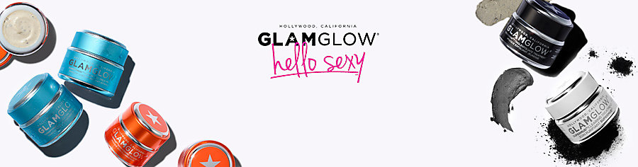 Image of Glam Glow skin care products