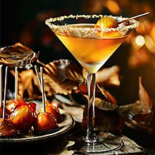 Discover bonfire night apple martini cocktail