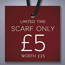 £5 Wool Scarf deal