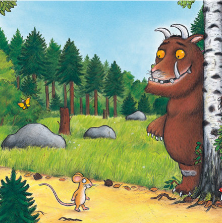 Baby kids gifts boy girl gift ideas ms drawn image from the gruffalo negle Images