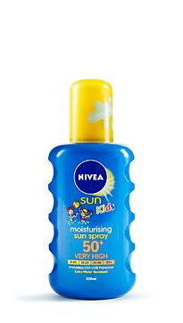 Nivea SPF spray for kids