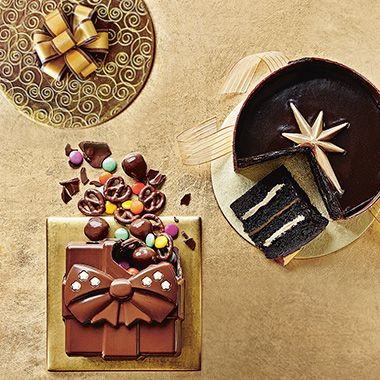Discover our range of hidden-centre cakes and desserts