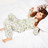 Girl modelling pyjamas