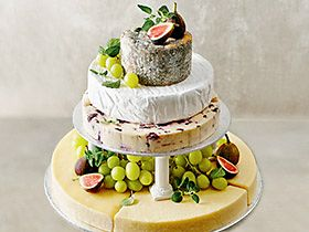 Shop savoury wedding cakes