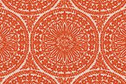 Estaris Chenille, coral – 45% acrylic,  40% polyester, 15% cotton
