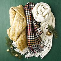 Three M&S scarves