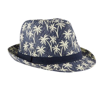 Blue boys' hat