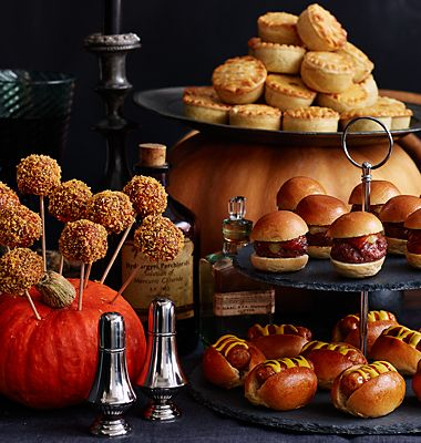 Halloween party food