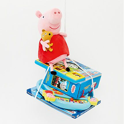 Selection of M&S kids' toys
