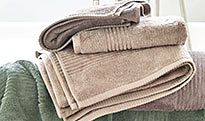 Bath towels and hand towels