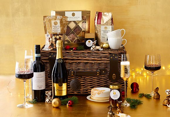 Christmas food & wine gifts