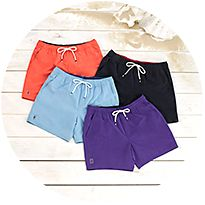 Selection of swim shorts
