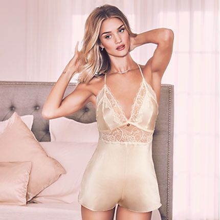 Rosie Huntington-Whiteley in nightwear