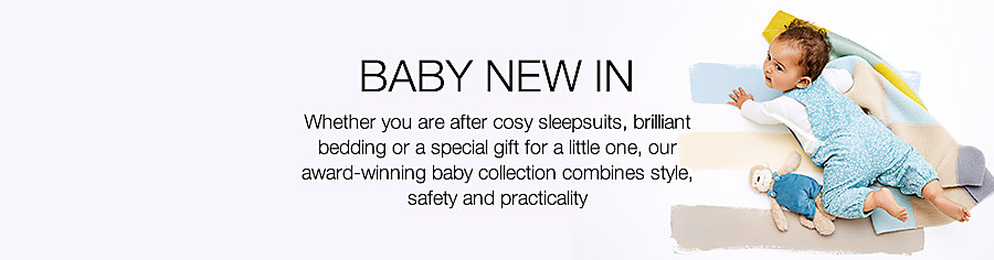 Baby new in clothes