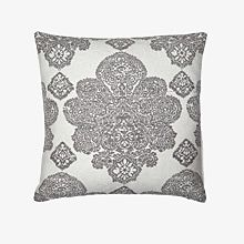 A grey cushion