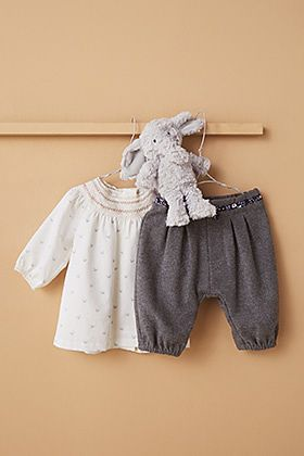 Baby blouse and trousers