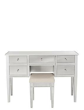 Evelyn 5 Drawer Dressing Table, , catlanding