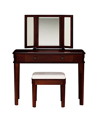 Sutton Dressing Table, Mirror & Stool Set Furniture