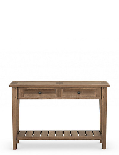 sanford console table m s. Black Bedroom Furniture Sets. Home Design Ideas
