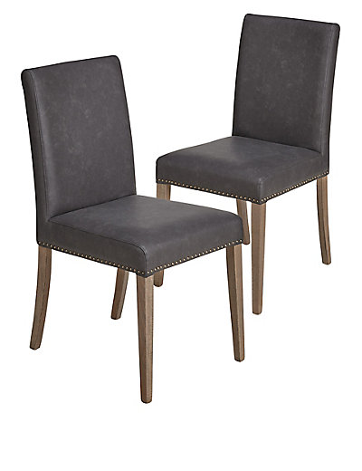 sanford dining chair x2 m s. Black Bedroom Furniture Sets. Home Design Ideas