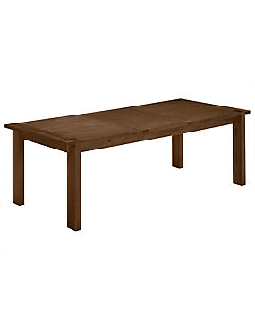 Sonoma Dark 180 Extending Dining Table