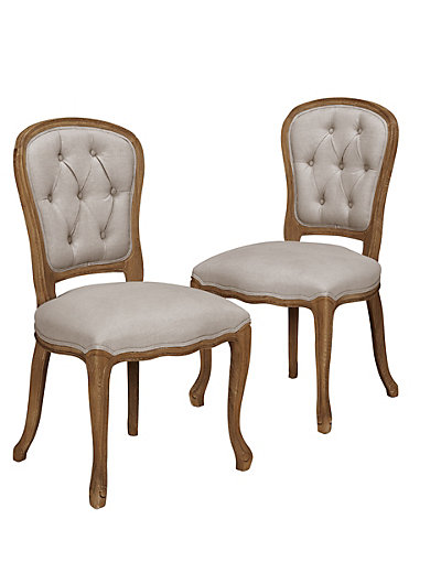 2 celina dining chairs m s. Black Bedroom Furniture Sets. Home Design Ideas