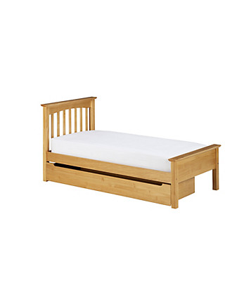 Hastings Natural Children's Storage Bed Furniture