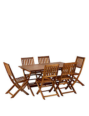 Radwell Table & 6 Chairs