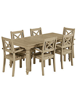 Dahlia Dining Table & 6 Chairs